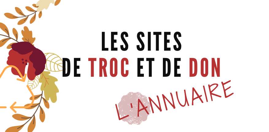 sites de troc et de dons