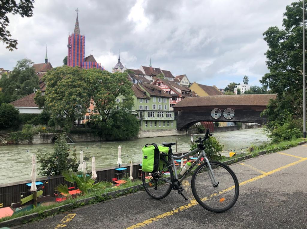 Le centre de Baden